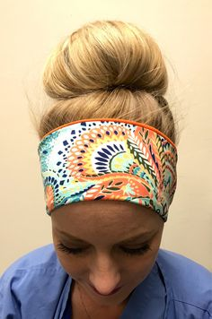 A personal favorite from my Etsy shop https://www.etsy.com/listing/178751953/adult-headbands-orange-dreams-running