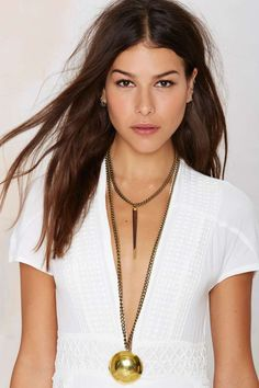 Chain Necklace | at Nasty Gal!
