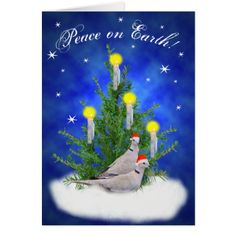 Peace on Earth! Card - winter gifts style special unique gift ideas