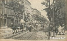 "/ CPA FRANCE 13 ""Marseille, boulevard National"""