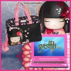 Γιατί όλα έιναι θέμα στυλ!! Τσάντα για laptop kimmidoll από τη Graffiti!  #graffitisa #graffiti #laptop #laptopbag #kimmidoll #graffiti_style