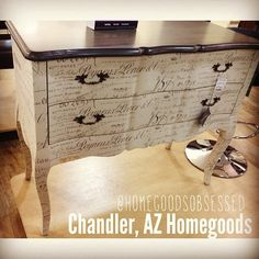 Check out this neat looking French cabinet!