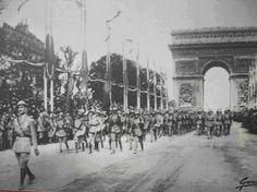 Victory Parade (Portuguese Expedicionary Corp, Paris 1919) / Desfile da Vitória, CEP, Paris 1919
