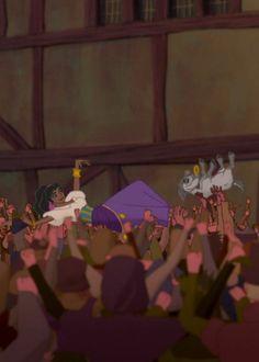 Esmeralda & Djali - The Hunchback of Notre Dame Disney Day, Disney Pins, Cute Disney, Disney Magic, Bells Of Notre Dame, Esmeralda Disney, Disneyland, Walt Disney Animation Studios, Disney Aesthetic