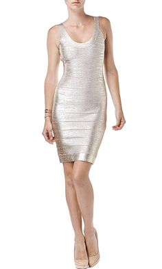 Define your sexy with an Herve Ledger bandage dress, available @Beckley Boutique .