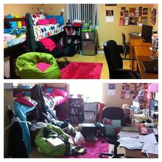 Room during finals week...