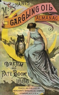 Merchant's Gargling Oil Almanac: Dream and Fate Book, 1886