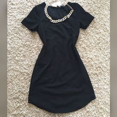 New black Bodycon  New with tag, comes with necklace !! NOTA ZARA BRAND! Offers accepted Zara Dresses Mini