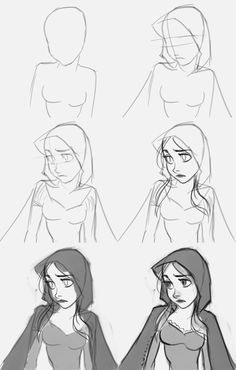 How to draw Red Riding Hood. Learn to draw a little red riding hood cartoon character from step by step images along with basic instruction. In this tutorial, you will learn to draw a character from classic fairy tale cartoon…