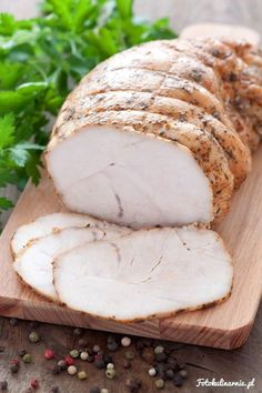 Roasted turkey breast for sandwiches. Sugar Free Recipes, Baby Food Recipes, Meat Recipes, Snack Recipes, Cooking Recipes, Homemade Sandwich, Best Cookbooks, Yummy Food, Good Food