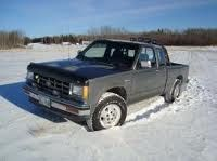 First truck I owned 1987 Chevy S-10 ext. cab