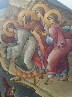 Byzantine Icons, Byzantine Art, Religious Icons, Religious Art, Orthodox Icons, Vignettes, Nativity, Projects To Try, Design Inspiration