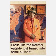 Weatherman 1972 12x18