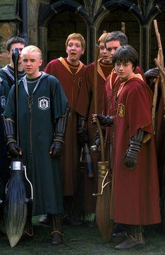 quidditch serpentar et gryffondor