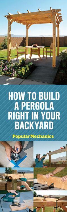 Build Your Own Pergola