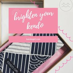 """0 Likes, 1 Comments - kendo girl (@kendogirlshop) on Instagram: """"Brighten your kendo with pretty #kendo things 💕🌸😃"""""""