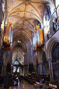 Worcester Cathedral by Dave Hamster, via Flickr