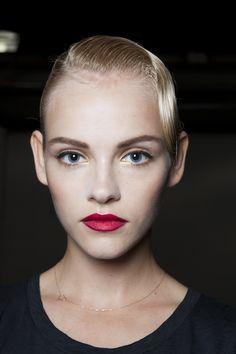 Spring 2013   Hair: Odile Gilbert for Kerastase  Makeup: Diane Kendal and the M•A•C Pro Team