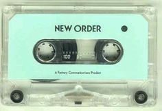 New Order's first album, Movement, as a tape. How rare!