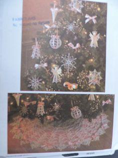 Craft Patterns, Crochet Patterns, Crochet Instructions, Tree Tops, Tree Skirts, Knit Crochet, Victorian, Angel, Decorations