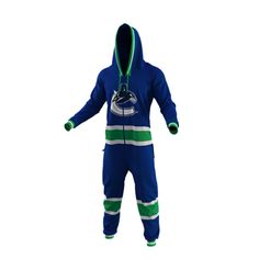 Vancouver Canucks Team Uniform Onesie