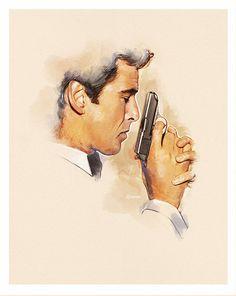 Pierce Brosnan is James Bond 007 in GoldenEye.