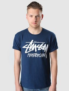 Stussy - Stussy Amsterdam T-Shirt Navy a4a8ee336
