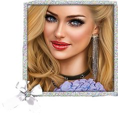 Cartoon Girl Images, Girl Cartoon, Cartoon Flowers, Girls Image, Creations, Women, Woman