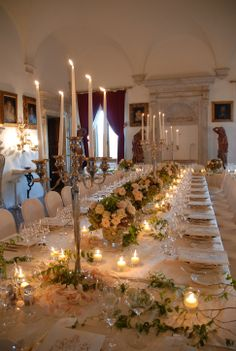 Dinner in the Pope's Hall - Relais La Suvera, Tuscany