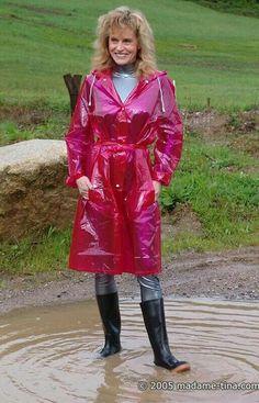 Raincoats For Women Products Key: 4976705451 H&m Raincoat, Vinyl Raincoat, Green Raincoat, Plastic Raincoat, Long Raincoat, Plastic Pants, Black Rain Jacket, North Face Rain Jacket, Mud