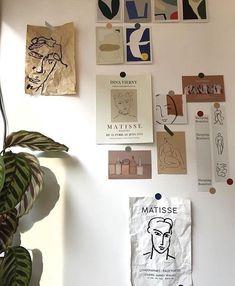 Room Ideas Bedroom, Bedroom Inspo, Bedroom Decor, Decoration Inspiration, Room Inspiration, Decor Ideas, Inspiration Boards, Aesthetic Room Decor, Aesthetic Painting