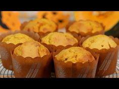 Pumpkin Muffins (Halloween Recipe) かぼちゃのマフィン ハロウィンレシピ 作り方 - / Queques Abóbora o (Receita do Dia das Bruxas) muffin de abóbora Dia das Bruxas receitas como fazer -