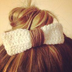 Fiocco crochet per capelli #bows #crochet