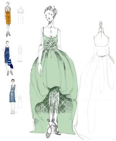 The Great Gatsby | Costumes for the actresses were created from designs in the Prada archives.