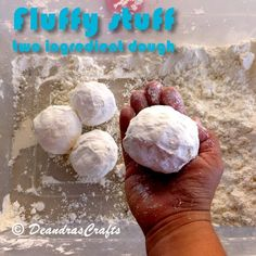 Picture of Fluffy Stuff - two ingredient play-dough