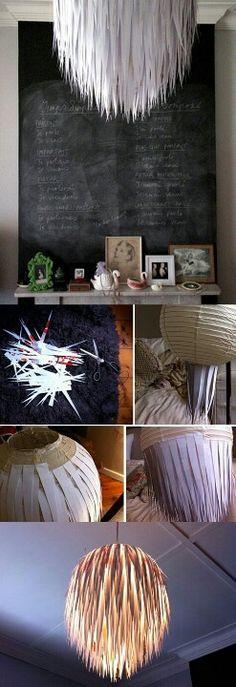 Cool homemade lamp