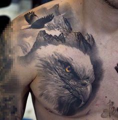 Bald Eagle Tattoos, Wolf Tattoos Men, Arm Tattoos For Guys, Animal Tattoos, Viking Tattoo Sleeve, Dragon Sleeve Tattoos, Forearm Sleeve Tattoos, Body Art Tattoos, Bird Of Prey Tattoo