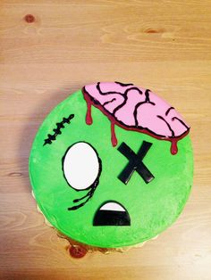 zombie birthday cakes | Kid friendly zombie cake. #zombie #birthday #cake #semi-homemade # ...