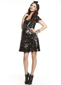 More of Me Sequin Party Maternity Dress