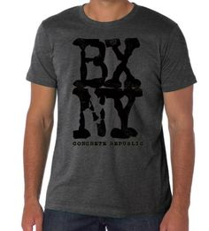 Mens Hip Hop Tee-Bronx New York City-BXNY-Urban-Graffiti-heather grey tees, military green tshirts, navy blue tee, white tees-sizes Sm-3XL by ConcreteRepublic on Etsy