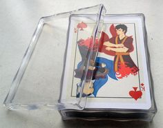 Avatar Last Airbender Poker Deck of 54 Cards. $22.00, via Etsy.