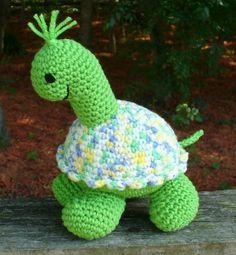 Tootles Turtle Crochet Amigurumi Pattern PDF from happywhosits by DaWanda.com