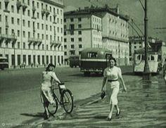 Фотография - Большая Калужская улица - Фотографии старой Москвы