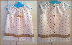 Marta Cabal nos envía este sencillo pero finísimo vestido confeccionado en algodón italiano: www.telaspedro.com/patchwork-italiano-coleccion-camel.html ¡Gracias!