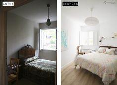 Dormitorio reformado new vintage