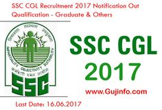 SSC CGL 2017 Recruitment Notification Out: Online Registration From Today