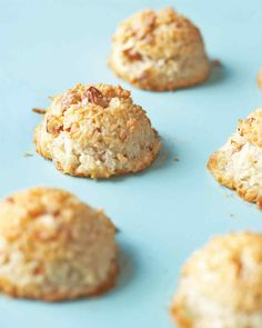 Passover Dessert Recipes | Martha Stewart Living - Perhaps the quintessential Passover sweet, macaroons are light and sometimes chewy, and they often feature ground almonds, almond paste, or coconut. This version comes out crisp and is a snap to whip up.