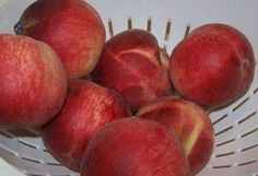 How to freeze peaches, nectarines, apricots, figs, cherries and plums (complete directions with photos)