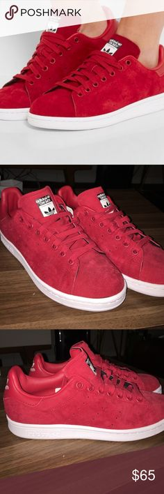 80bfdd1a540195 Vans Shoes Athletic Shoes. See More. NWT Stan Smith for Adidas Red Suede  Sneakers W 7.5 Add a touch of urban