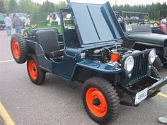 The most beautiful 1948 Willys CJ2A I have ever seen. I am modeling mine after this one.